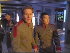 Daniel Dae Kim in Crusade (with Gary Cole)