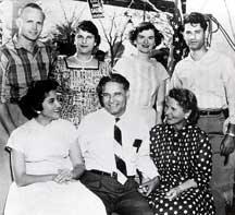 Dalip Saund and family