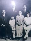 Philip Ahn's father, mother, brothers and sisters - except for the youngest brother who wasn't born at the time of the picture